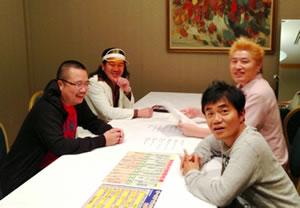 杉作J太郎さんも参加し、楽屋トーク