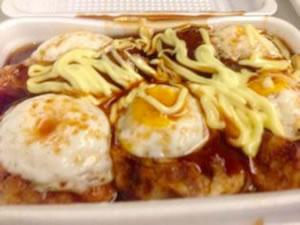 新幹線で食べたオヤジ焼き