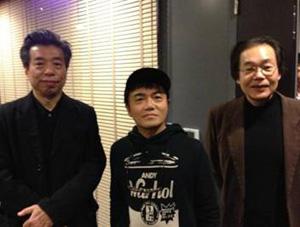 鹿島茂先生、井上章一先生と